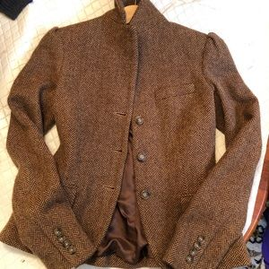 Rugby Ralph Lauren Blazer brown tweed